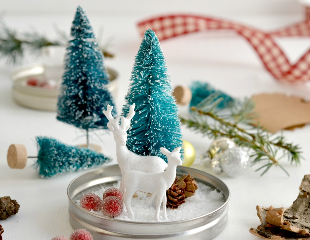 Diy euer winterwonderland im glas for Dekoration weihnachten