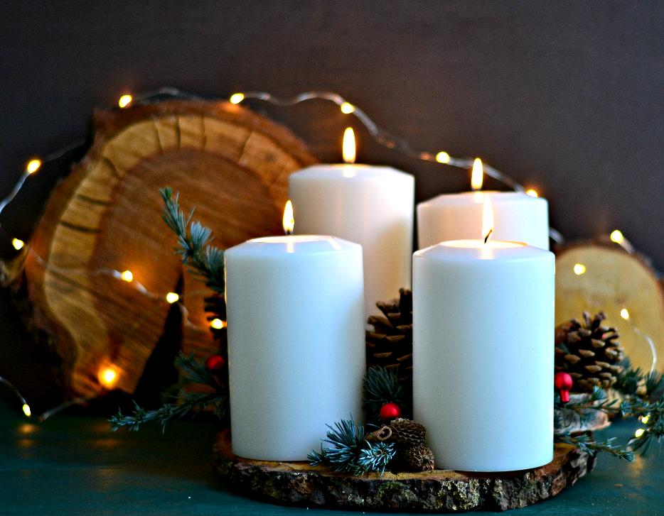 diy giveaway adventskranz schnell sch n selbstgestalten. Black Bedroom Furniture Sets. Home Design Ideas