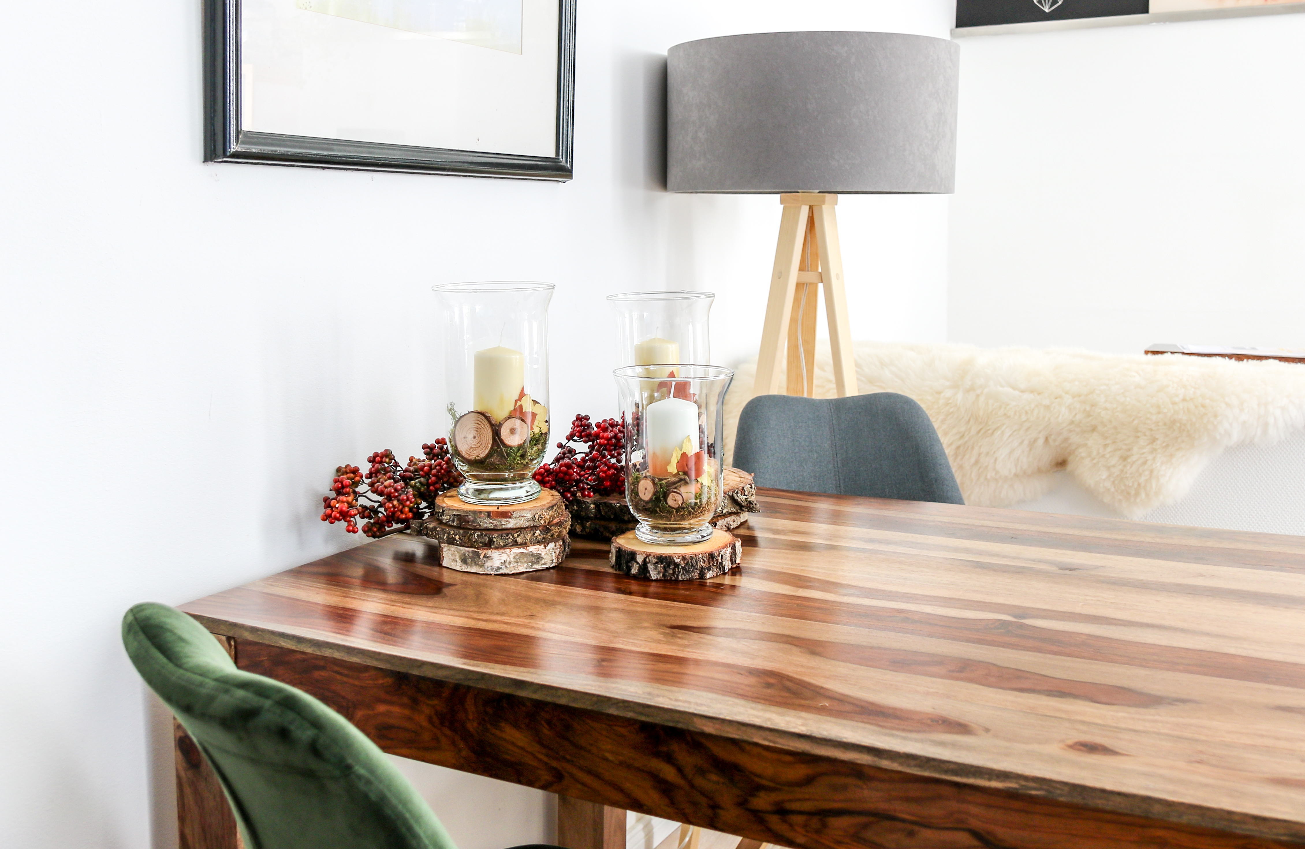 Diy Herbstliche Kerzen Als Deko Furs Wohnzimmer Mit Pilotpen Werbung
